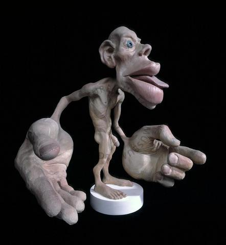 Homunculus from British Natural History Museum