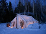 winter bushcraft and survival